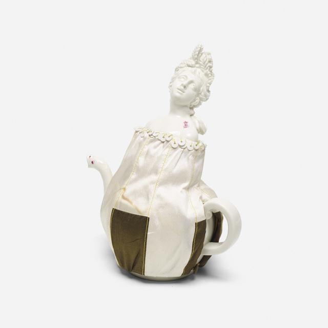 Nymphenburg Porcelain Manufactory, 'Summer teapot', 2007, Wright
