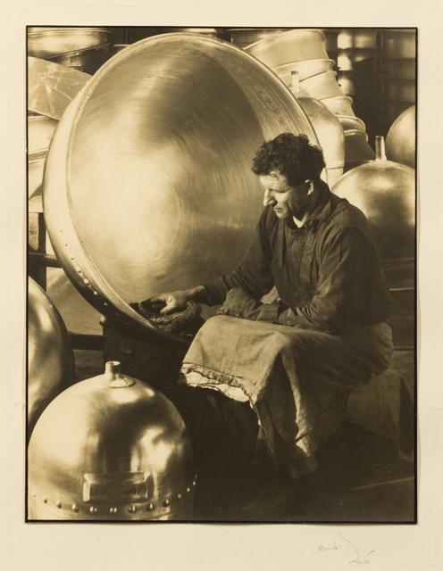 Margaret Bourke-White, 'Chemical Laboratory Kettle, Aluminum Co. of America', 1930, Hindman
