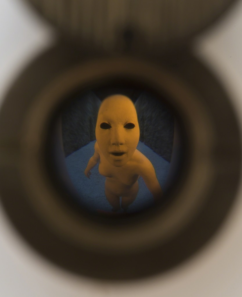 "Detail of ""Returned Daughter,"" 2015"