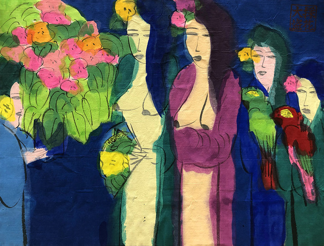 , 'Two Charming Oriental Beauties,' ca. 1990, Alisan Fine Arts