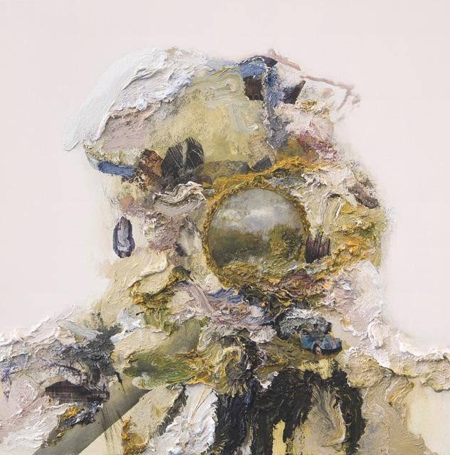 , 'Quai Branly Head IV (Vintage Girl),' 2018, Opera Gallery