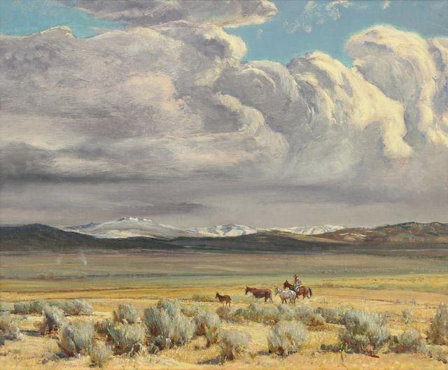 , 'Truchas Peaks (Taos Valley) ,' 1949, Addison Rowe Gallery