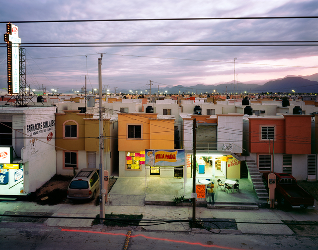 , 'From the series Fragmented Cities, Business in newly built suburb in Juarez,' 2009, Circuit Gallery