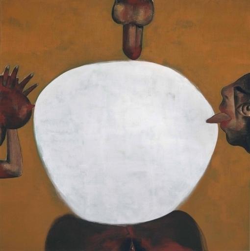 Francesco Clemente, 'Oblation', Christie's