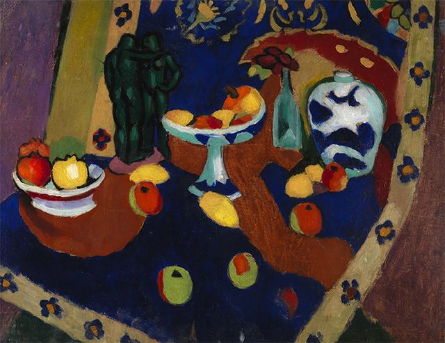 , 'Étude d'Après Matisse,' 1909-1911, Montclair Art Museum