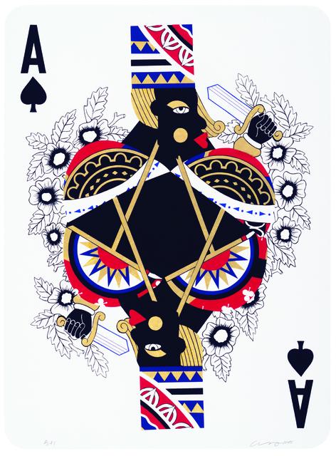 , 'Game Changing (Ace),' 2015, Lower East Side Printshop