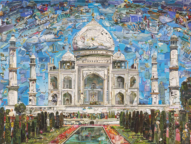 , 'Postcards from nowhere: Taj Mahal,' 2015, Galeria Nara Roesler