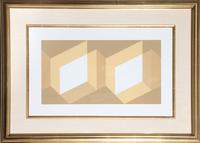 Josef Albers, Portfolio 1, Folder 27, Image 1 from Formulation: Articulation