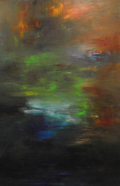 MD Tokon, 'Autumn Days Walk', 2014, Painting, Acrylic on Canvas, Isabella Garrucho Fine Art