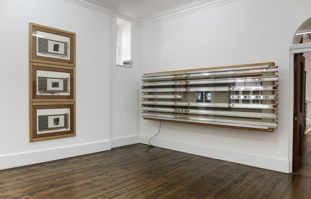 Installation view, Reinhard Much, Full Take, Sprüth Magers, London, February 20 - May 11, 2019; Photography: Jochen Arentzen