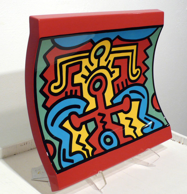 Keith Haring, 'No. 2 Spirit of Art, New York-Soho Centerpiece', 1992, David Lawrence Gallery