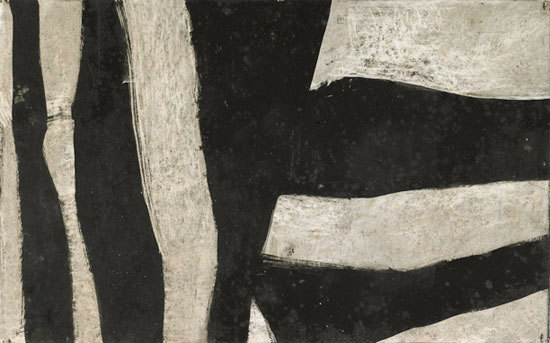 , 'Untitled (Black and Gray),' ca. 1950, Berry Campbell Gallery