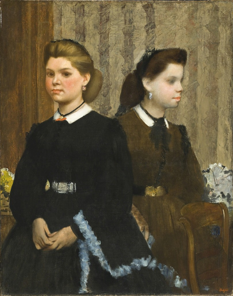 The Bellelli Sisters (Giovanna and Giuliana Bellelli)
