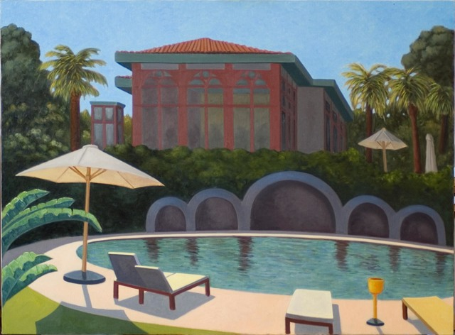 , 'Pestana Palace Pool,' 2008, Waterhouse & Dodd