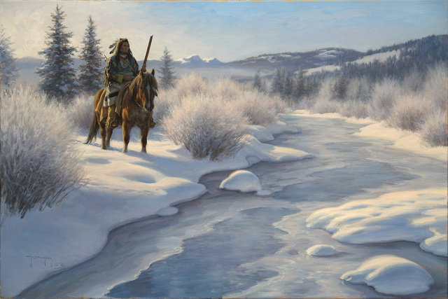 Robert Duncan, 'The Frozen Land', 2020, Painting, Oil on canvas, Trailside Galleries