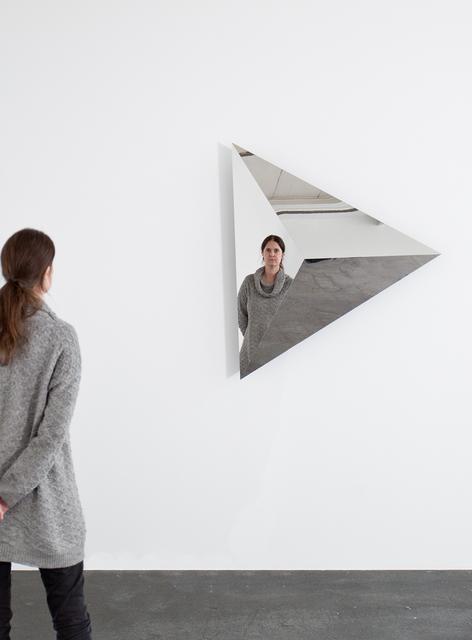 , 'Rotating Triangular Pyramid I,' 2015, KÖNIG GALERIE