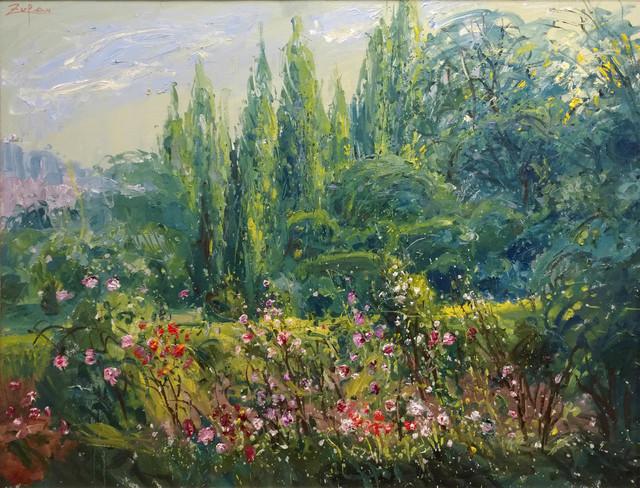 , 'Detail from Cartuja Garden, Valldemossa,' 2017, Galerie d'Orsay
