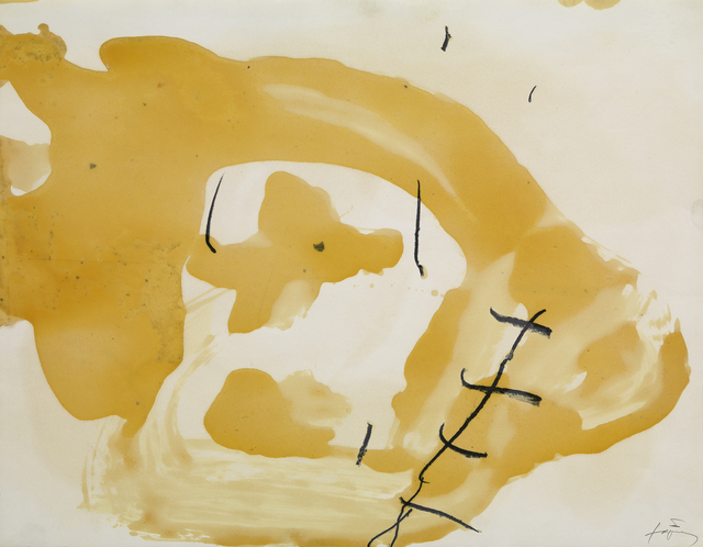 Antoni Tàpies, 'Vernis III', 1989, Galerie Lelong & Co.