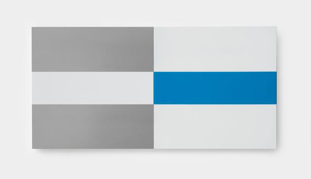 , 'Blue & White,' 2017, SILAS VON MORISSE gallery