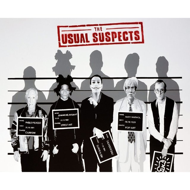 Catman, 'The Usual suspects ', 2018 , David Parker Gallery
