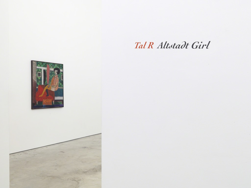 Tal R: Altstadt Girl