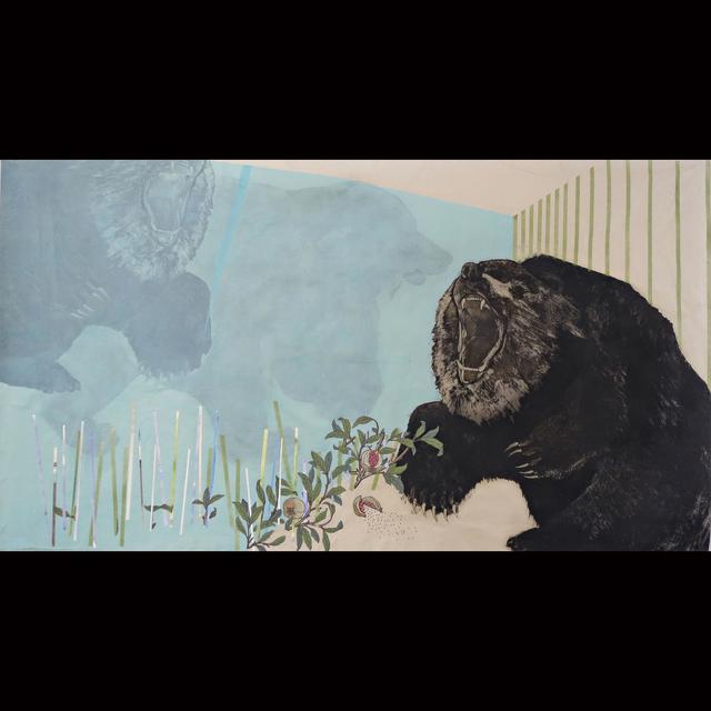 Mary Hood, 'Reflections: Poppies', 2015, SHIM Art Network