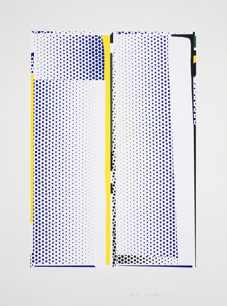 Roy Lichtenstein, 'Mirror #9,' 1972, Gemini G.E.L.