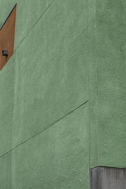 , 'Green and Orange Grey,' 2017, Dab Art