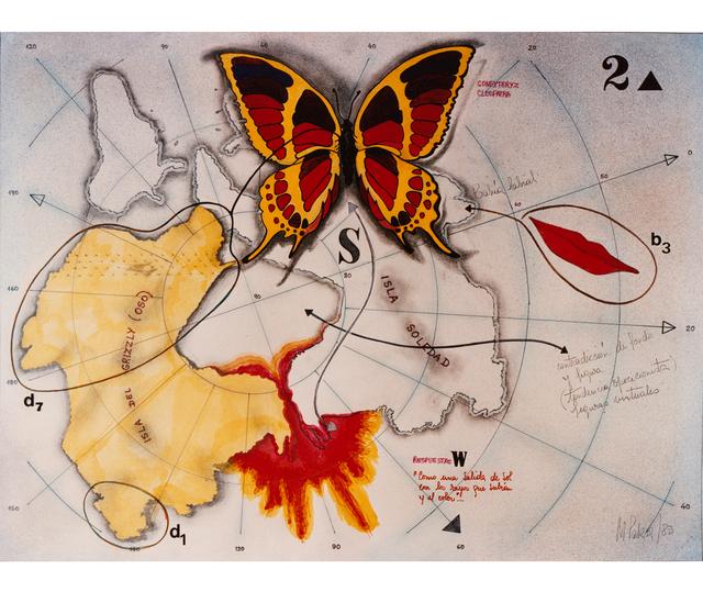 , 'Mariposa y bahía labial,' 1983, Herlitzka + Faria