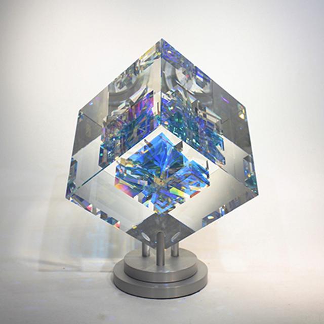 Toland Sand, 'Blue Cross Cube', 2018, Bender Gallery