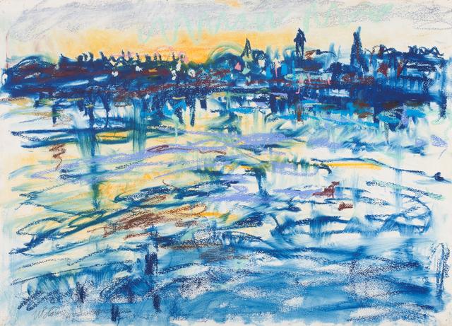 Nell Blaine, 'Gloucester Harbor', 1958, Trident Gallery