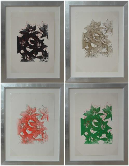 , 'Poinsettias (4 works),' 1983, Long-Sharp Gallery