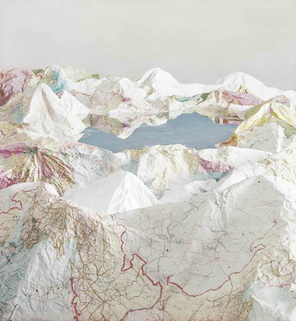 , 'Map No.5,' 2014, HDM Gallery