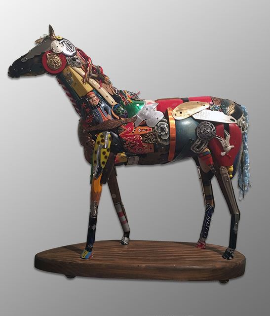 , 'Horse, maquette,' 2016, Cavalier Galleries