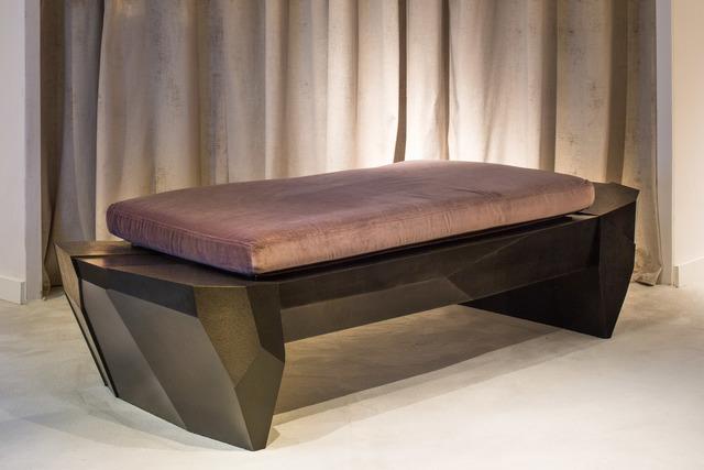 , 'Mineral Bench,' 2017, Garrido Gallery