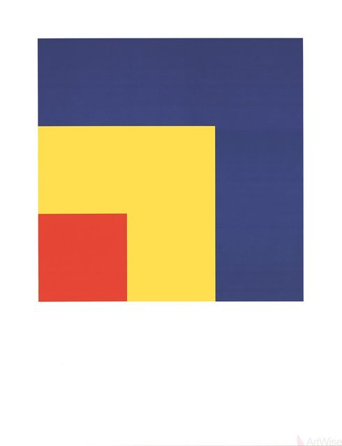 Ellsworth Kelly, 'Red, Yellow, Blue', (Date unknown), ArtWise