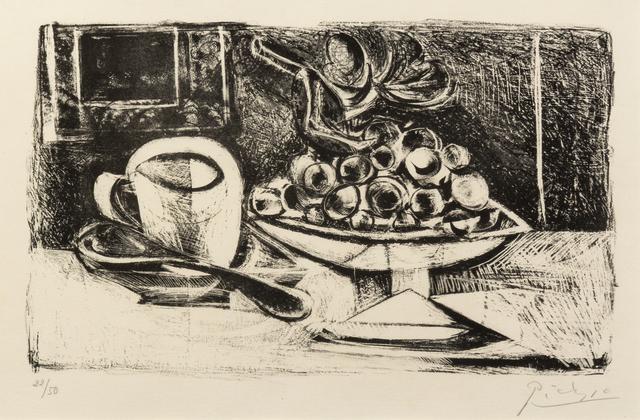Pablo Picasso, 'Nature Morte Au Compotier', 1945, Hindman