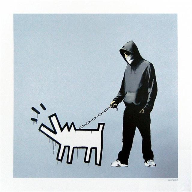 Banksy, 'Choose Your Weapon (Silver) - Signed', 2010, Harper Deyong