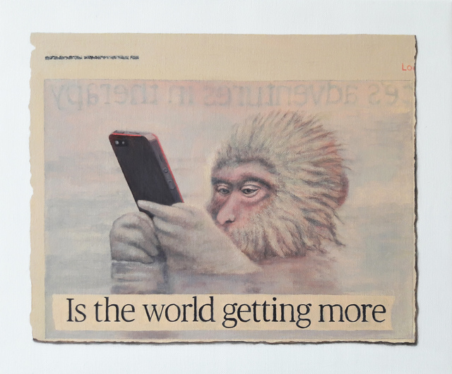 , 'Is the world getting more...,' 2018, Charlie Smith London