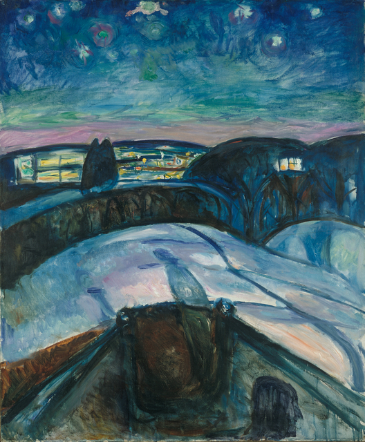 , 'Starry Night,' 1922, Van Gogh Museum