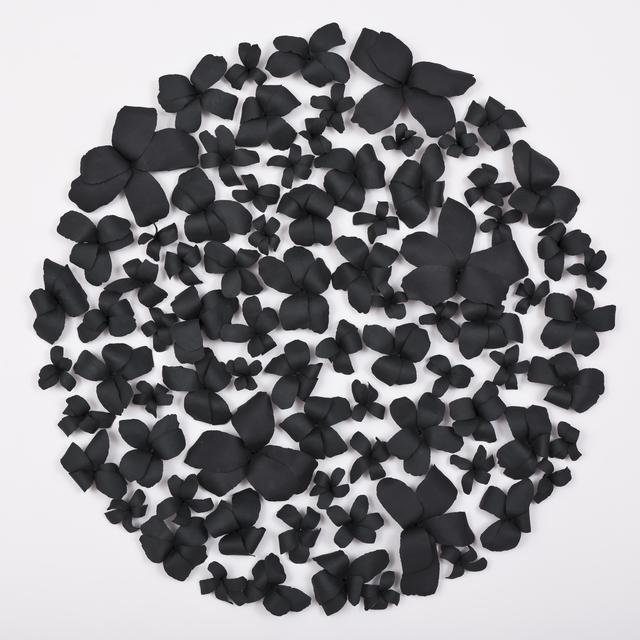 Valeria Nascimento, 'Black Hibiscus', 2019, Heather Gaudio Fine Art