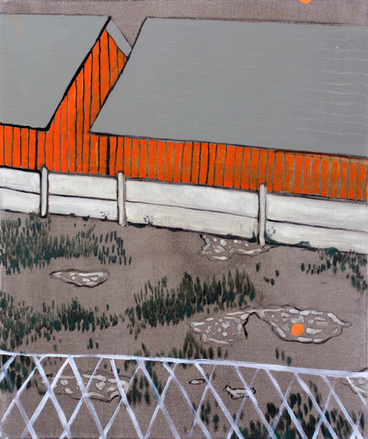 , 'Patio,' 2019, Leyendecker