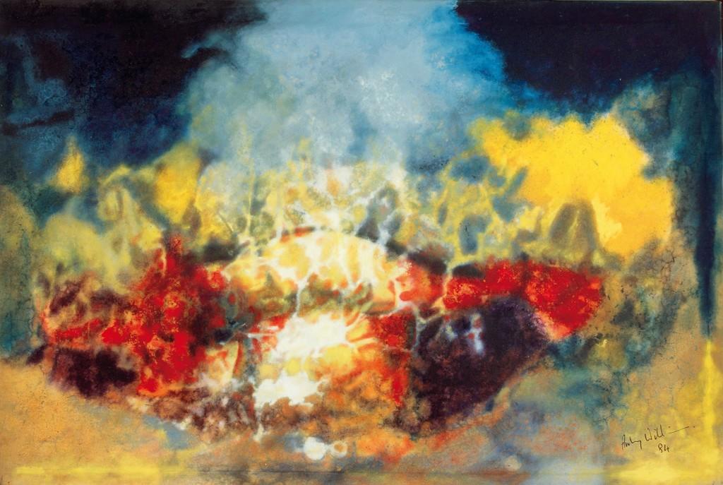 Hymn to the Sun IV (Olmec Maya series)