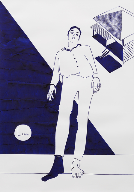 , 'Lean Further.,' 2018, Rebecca Hossack Art Gallery