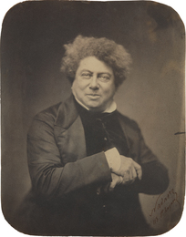 Nadar, 'Alexandre Dumas,' 1855, Phillips: The Odyssey of Collecting