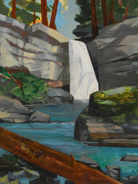 , 'Waterfall, Time and the Forest ,' 2015, Visions West Contemporary