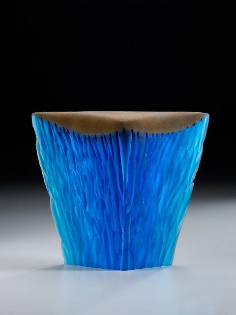 , 'Blue Pour,' , George Billis Gallery