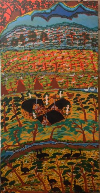 , 'Campsite at Roper River ,' 1996, Rebecca Hossack Art Gallery
