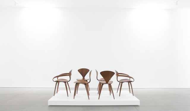 , 'Pretzel Chairs,' ca. 1958, Peter Blake Gallery