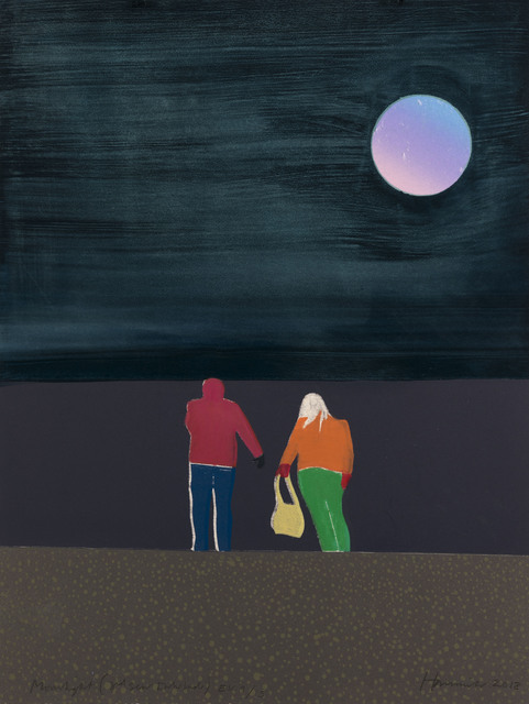 , 'Moonlight,' 2018, Flowers